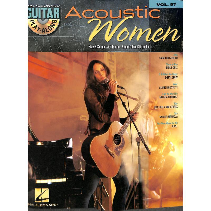 Titelbild für HL 700763 - ACOUSTIC WOMEN