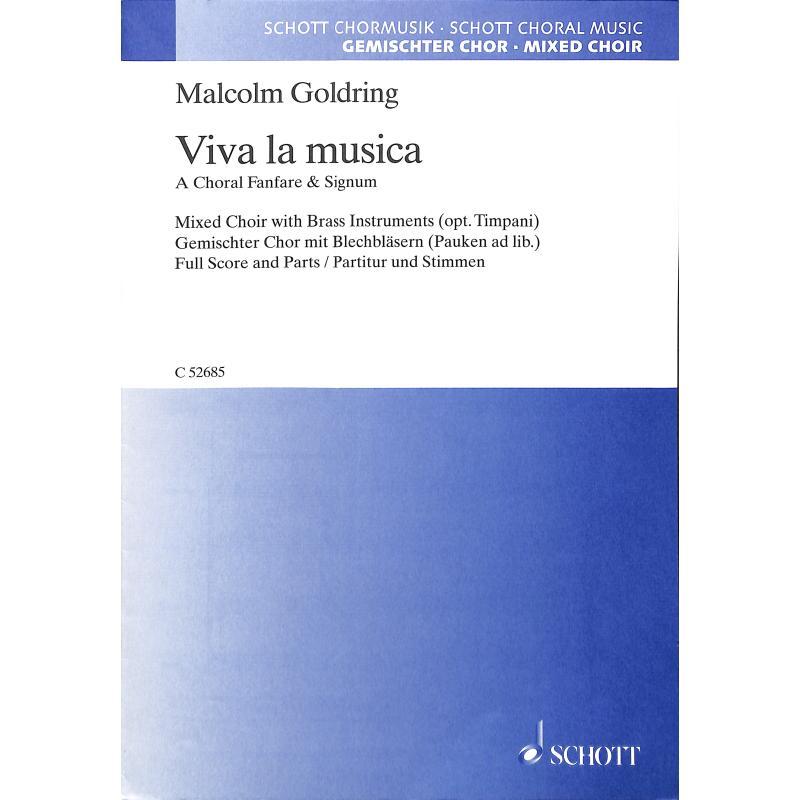 Titelbild für C 52685 - VIVA LA MUSICA