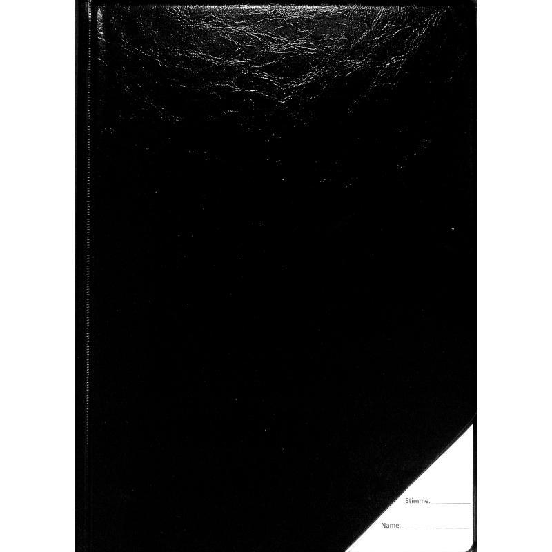 Titelbild für STAR 961-10-S - NOTENMAPPE 10 TASCHEN