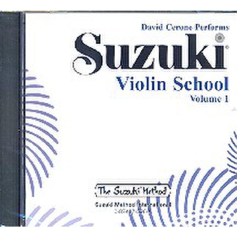 Titelbild für SBMT 596 - VIOLIN SCHOOL 1