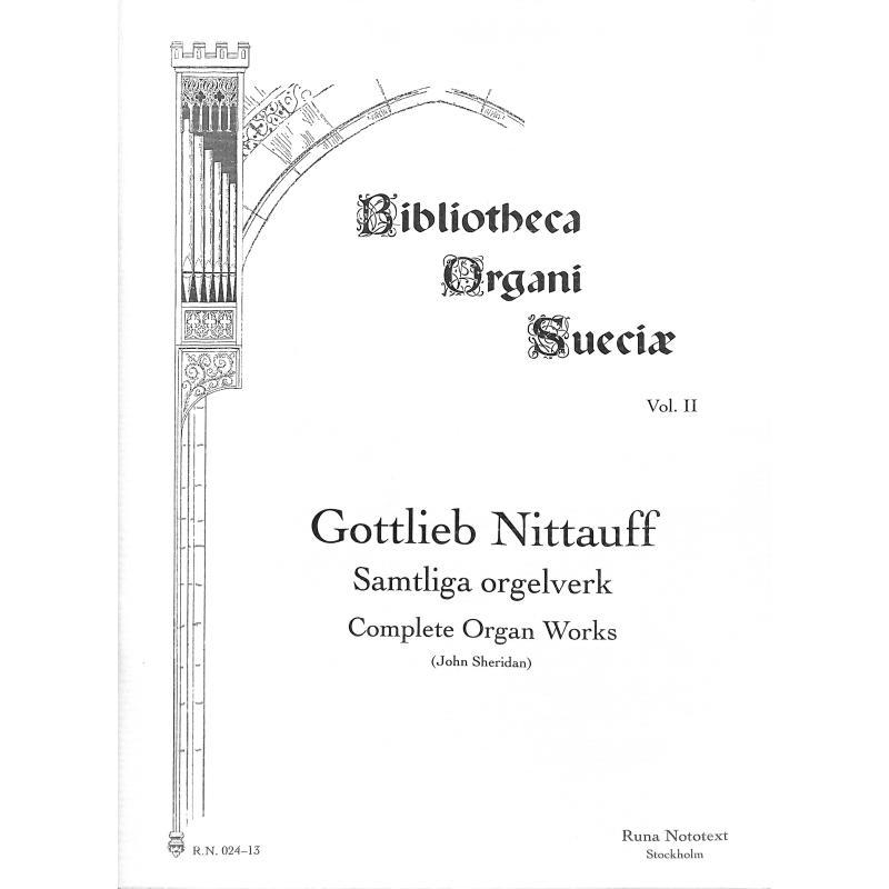 Titelbild für RUNA 024-13 - SAMTLIGA ORGELVERK
