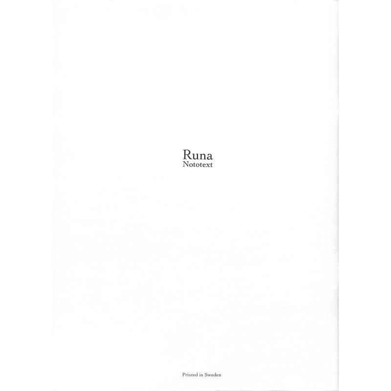 Notenbild für RUNA 024-13 - SAMTLIGA ORGELVERK