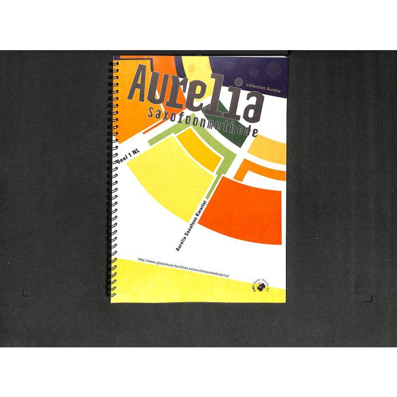 Titelbild für BERGEZ 973 - AURELIA SAXOFOONMETHODE 1