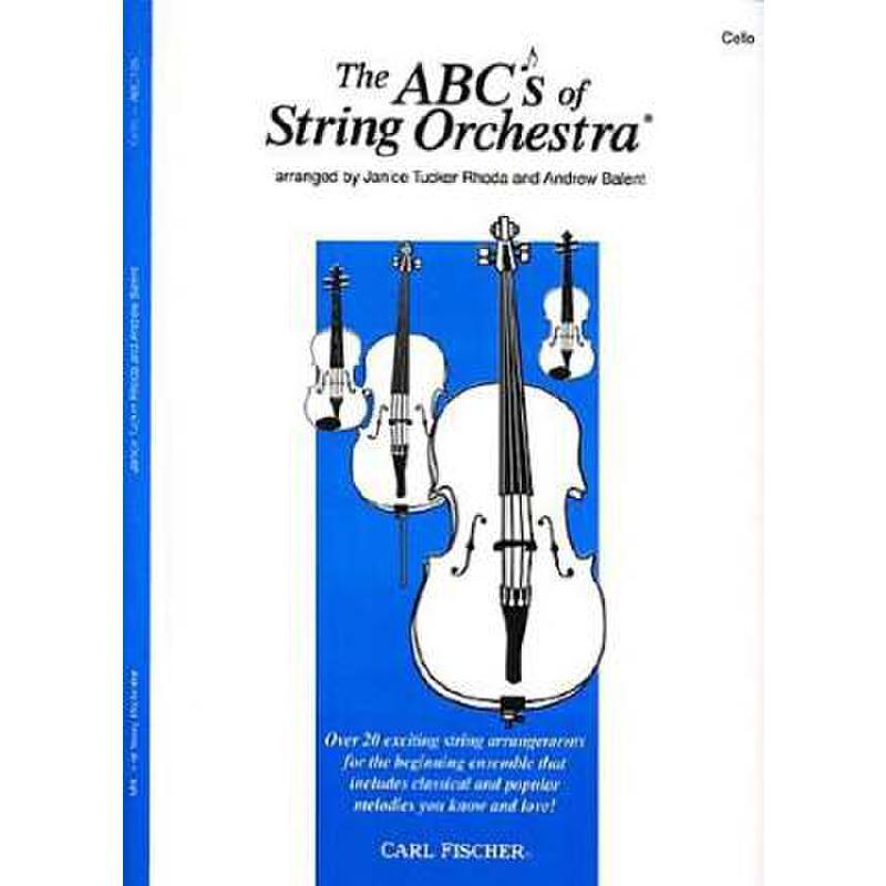 Titelbild für CF -ABC105 - ABC OF STRING ORCHESTRA