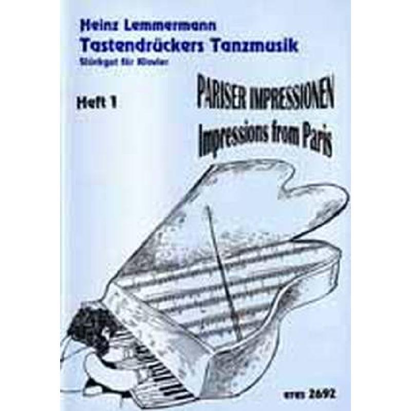 Titelbild für ERES 2692 - PARISER IMPRESSIONEN