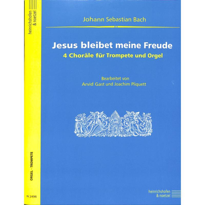 Titelbild für N 2496 - JESUS BLEIBET MEINE FREUDE (KANTATE BWV 147)