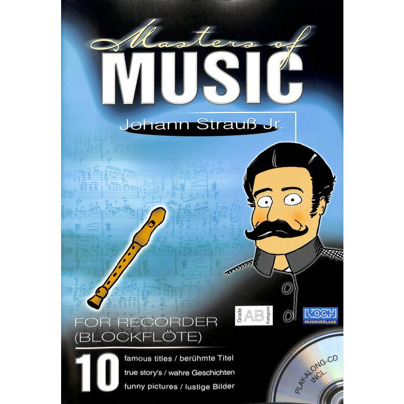 Titelbild für ECHO 023580 - MASTERS OF MUSIC