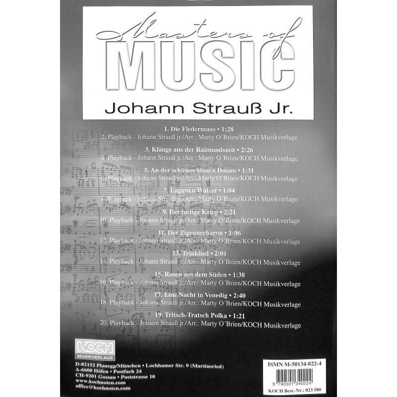 Notenbild für ECHO 023580 - MASTERS OF MUSIC