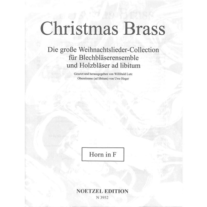 Titelbild für N 3952 - CHRISTMAS BRASS