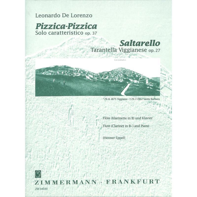 Titelbild für ZM 34030 - SALTARELLO OP 27 (SOLO CARATTERISTICO) +