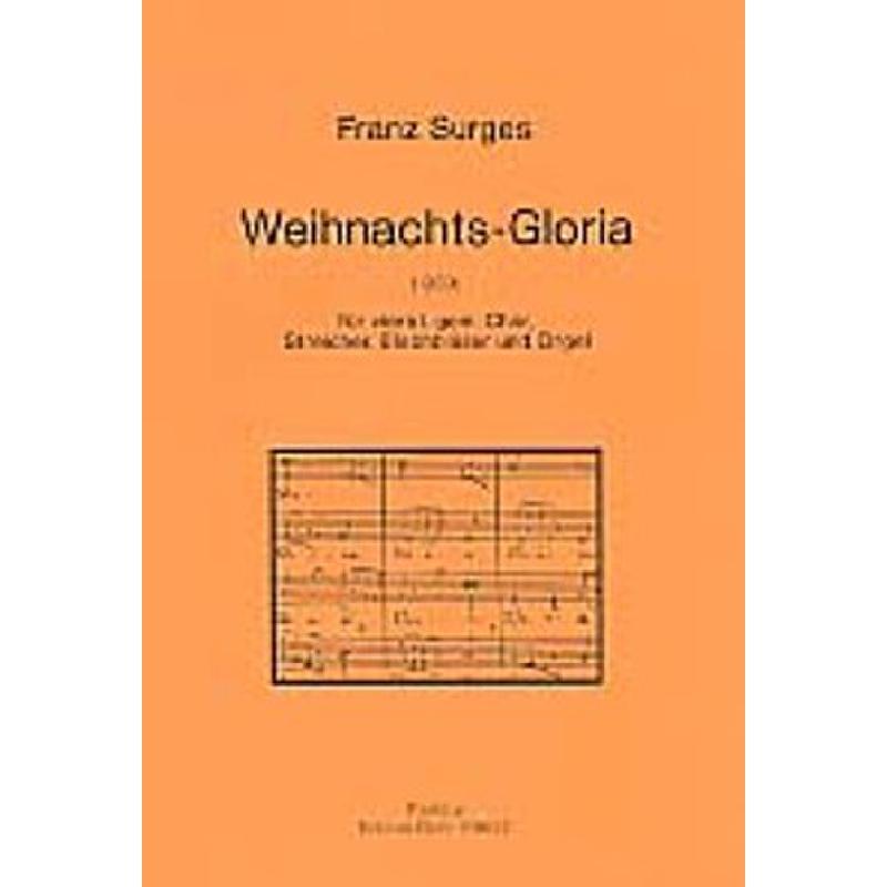 Titelbild für DOHR 99657 - WEIHNACHTSGLORIA