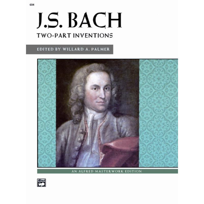Titelbild für ALF 604 - ZWEISTIMMIGE INVENTIONEN BWV 772-786