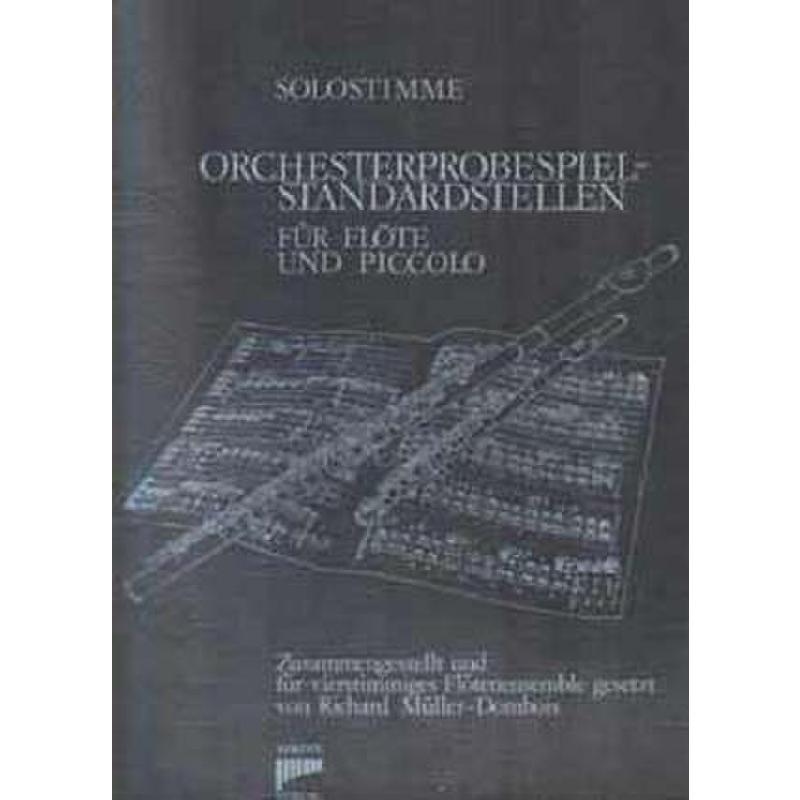 Titelbild für SYRINX 57A - ORCHESTERPROBESPIEL STANDARDSTELLEN 1