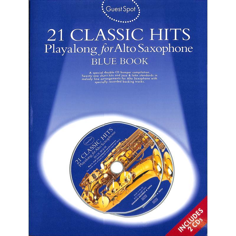 Titelbild für MSAM 978835 - 21 CLASSIC HITS - BLUE BOOK
