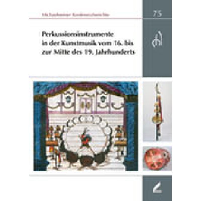 Titelbild für 978-3-89639-770-6 - PERKUSSIONSINSTRUMENTE IN DER KUNSTMUSIK
