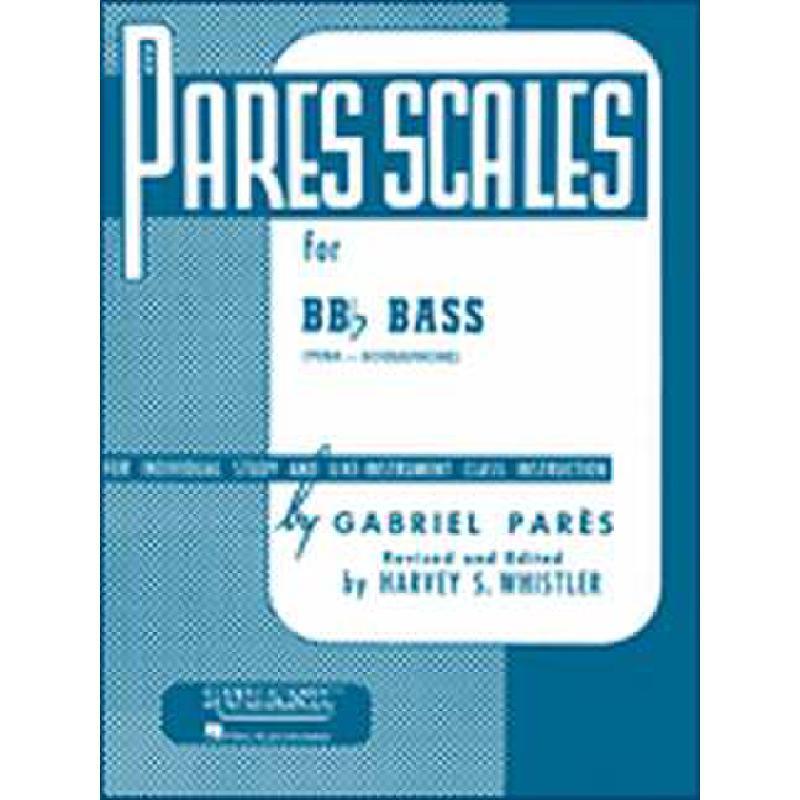 Titelbild für HL 4470580 - PARES SCALES FOR TUBA