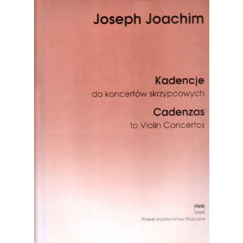 Titelbild für PWM 5584 - KADENZEN ZU VIOLIN KONZERTEN