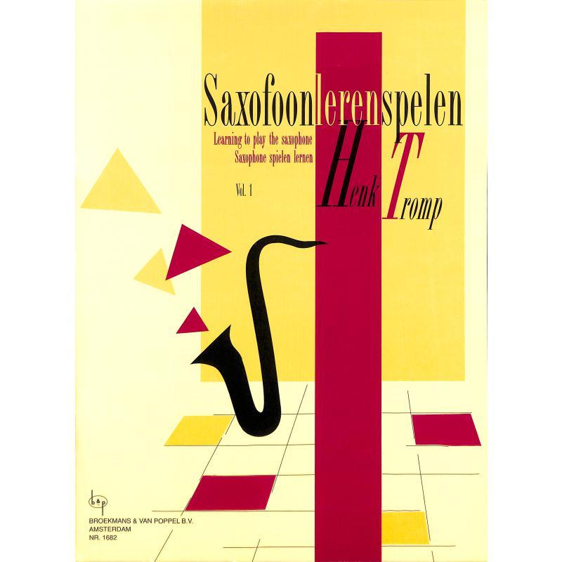 Titelbild für BVP 1682 - SAXOFOON LEREN SPELEN 1