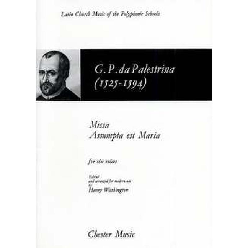 Titelbild für CH 08788 - MISSA ASSIMPTA EST MARIA