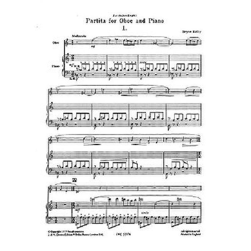 Titelbild für CH 55176 - PARTITA
