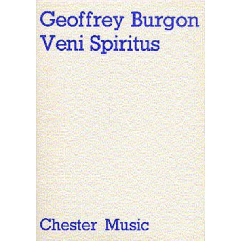 Titelbild für CH 55185 - VENI SPIRITUS (1979)