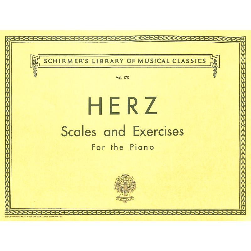 Titelbild für GS 25321 - SCALES + EXERCISES