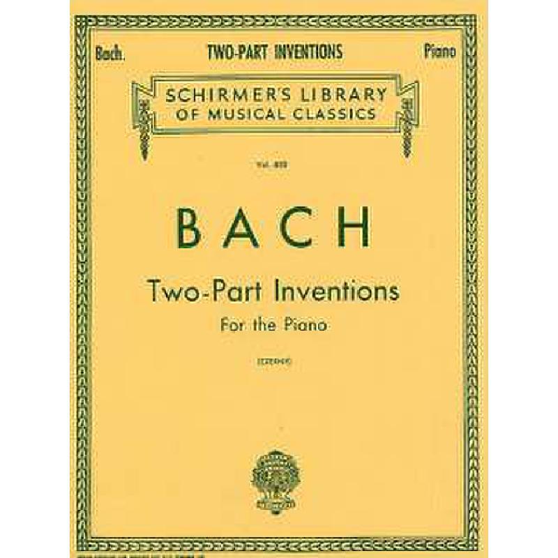 Produktinformationen zu 15 ZWEISTIMMIGE INVENTIONEN BWV 772-786 GS 25668