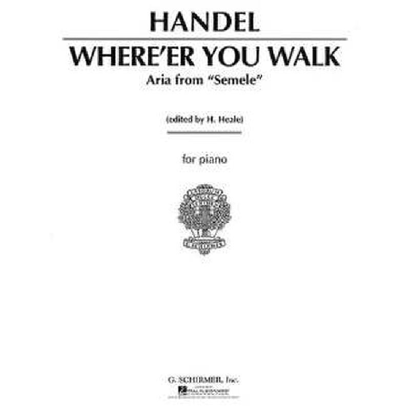 Titelbild für GS 26691 - WHERE'ER YOU WALK