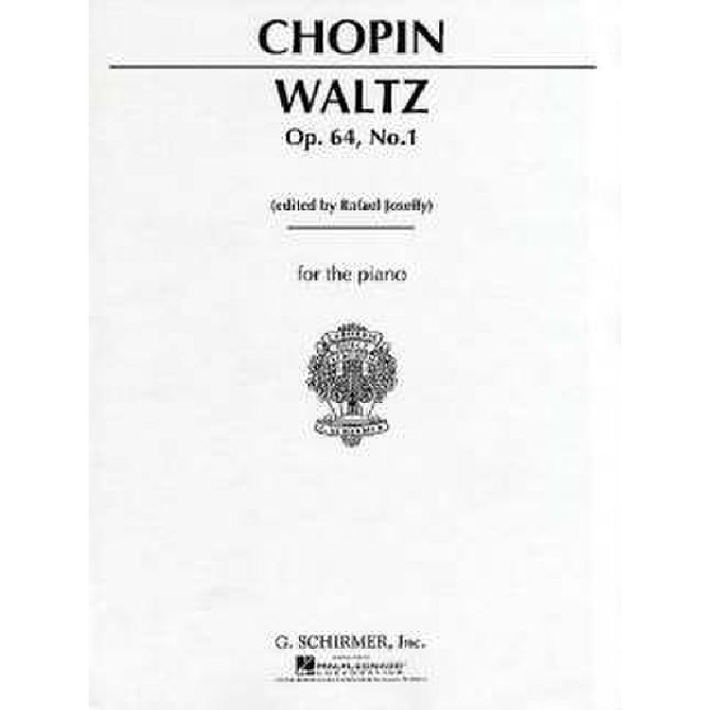 Titelbild für GS 27367 - WALZER DES-DUR OP 64/1 (MINUTEN)