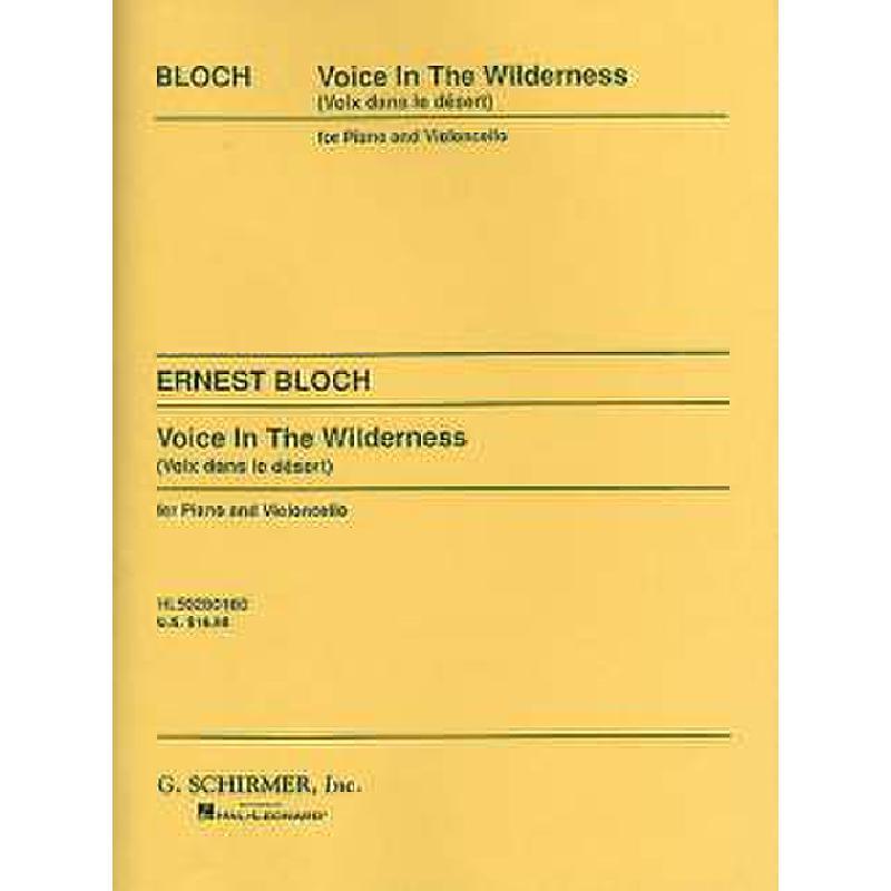 Titelbild für GS 28018 - VOICE IN THE WILDERNESS