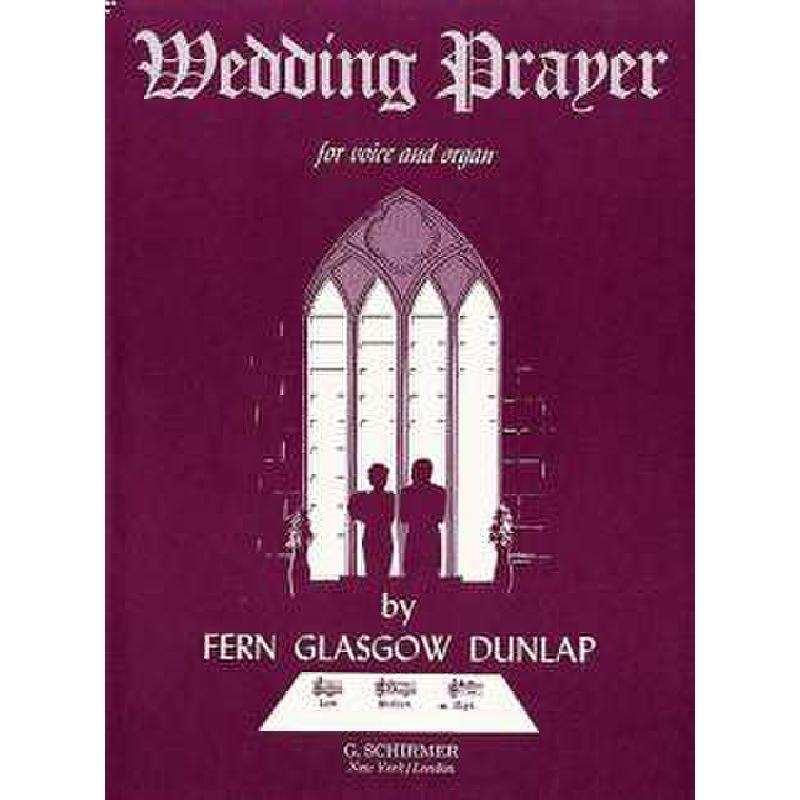 Titelbild für GS 29012 - WEDDING PRAYER