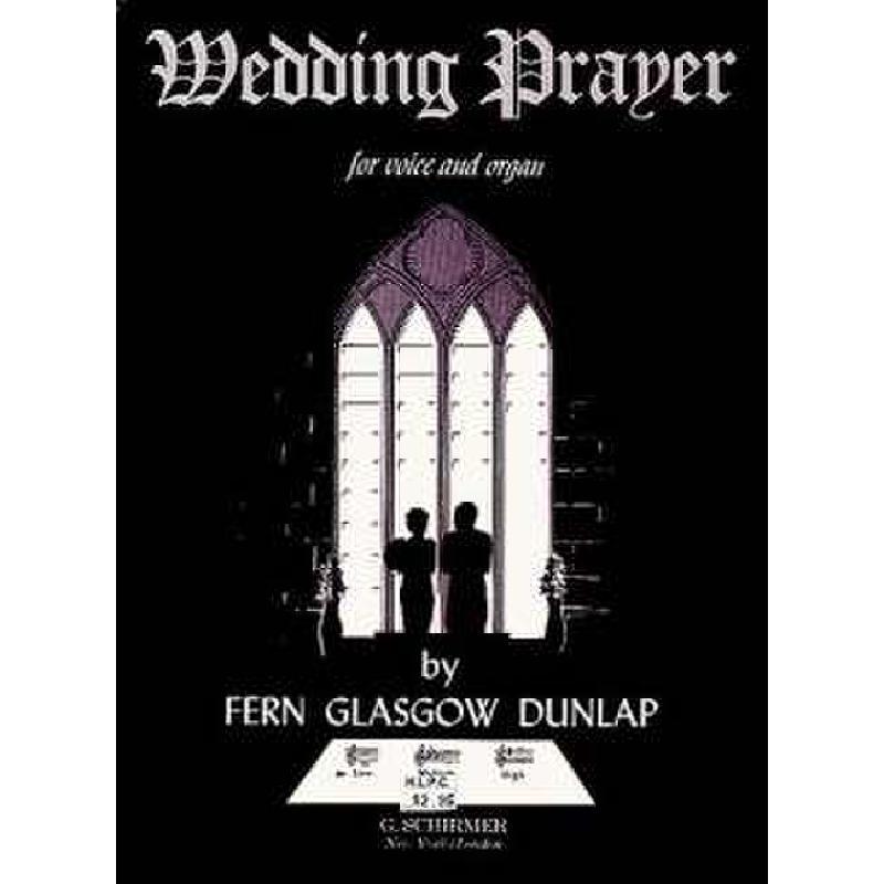 Titelbild für GS 29014 - WEDDING PRAYER