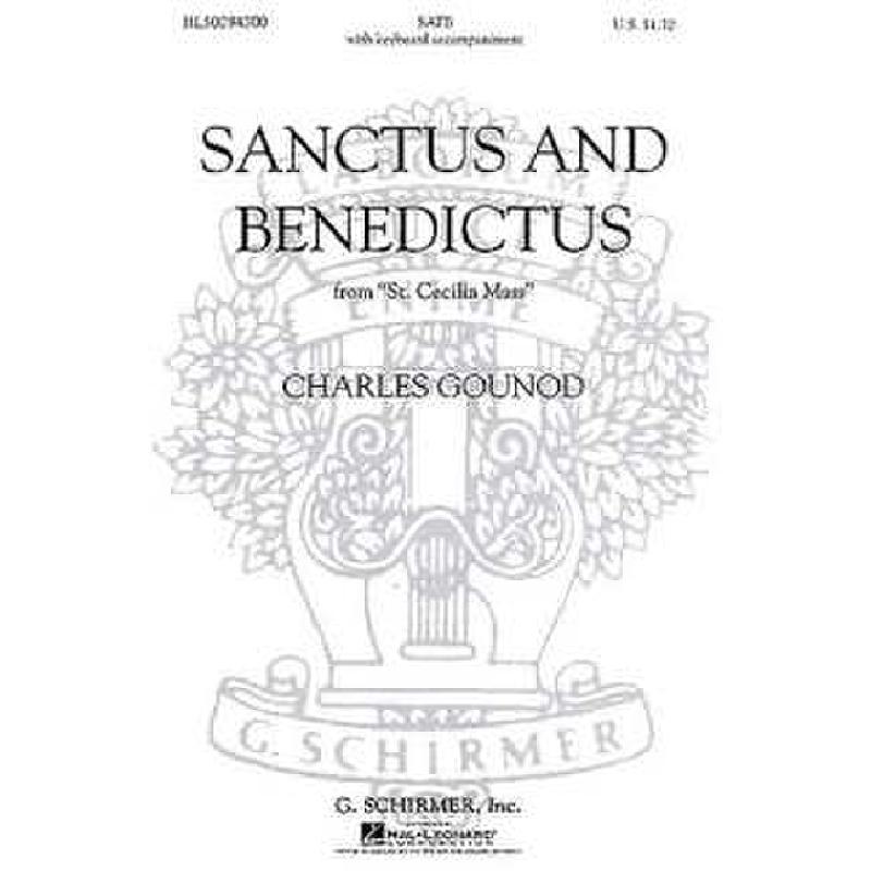 Titelbild für GS 29430 - SANCTUS + BENEDICTUS