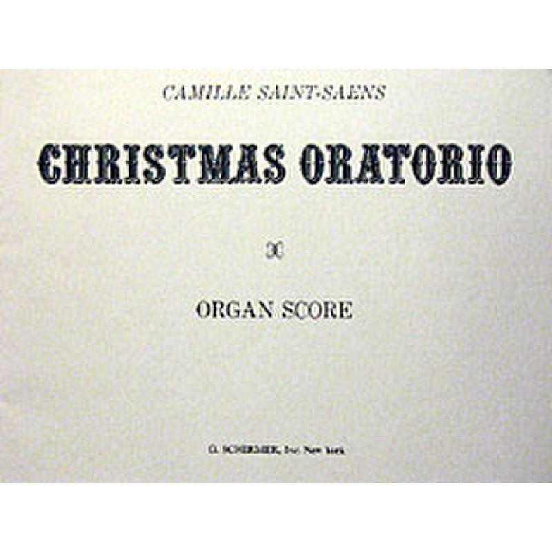Titelbild für GS 32968 - ORATORIO DE NOEL OP 12 (WEIHNACHTSORATORIUM)