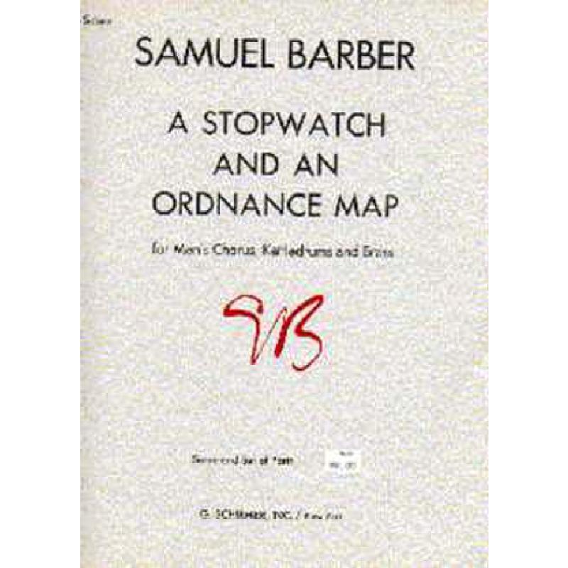 Titelbild für GS 36225 - A STOPWATCH + AN ORDNANCE MAP