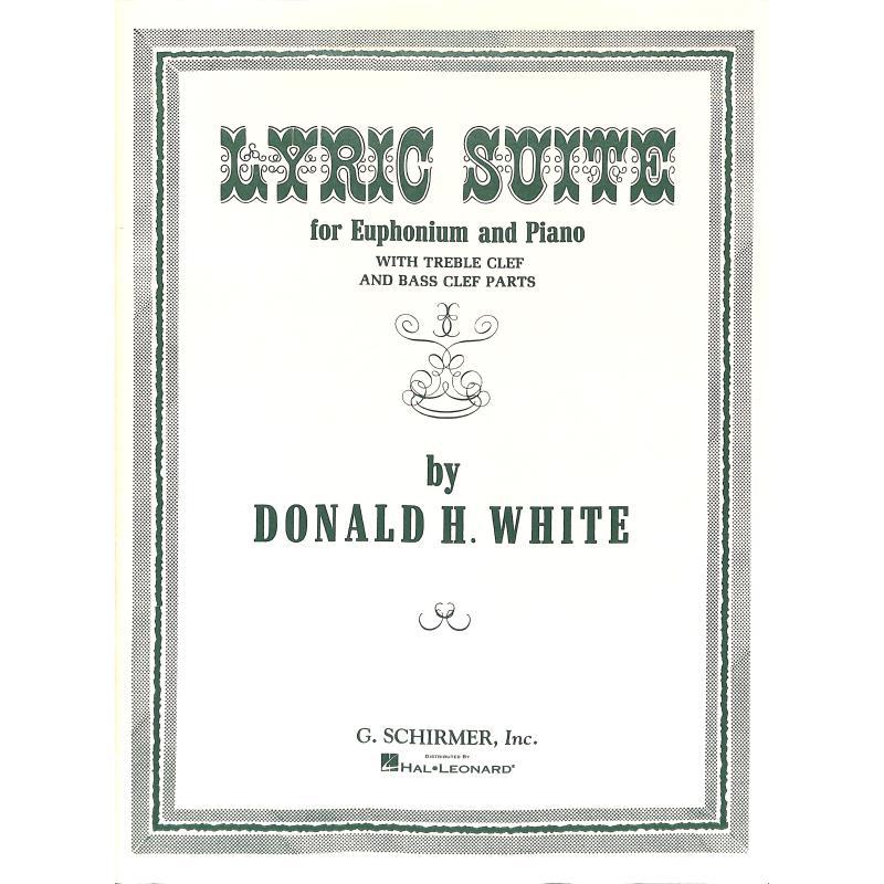 Titelbild für GS 36530 - WHITE LYRIC SUITE