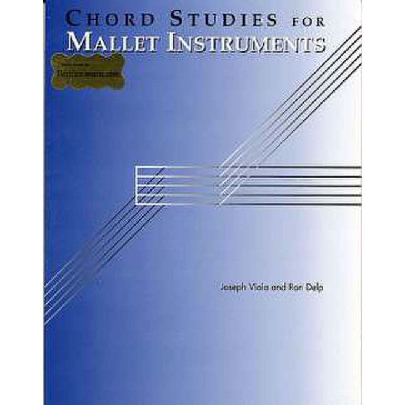 Titelbild für GS 44958 - VIOLA CHORD STUDIES FOR MALLET INSTRUMENTS