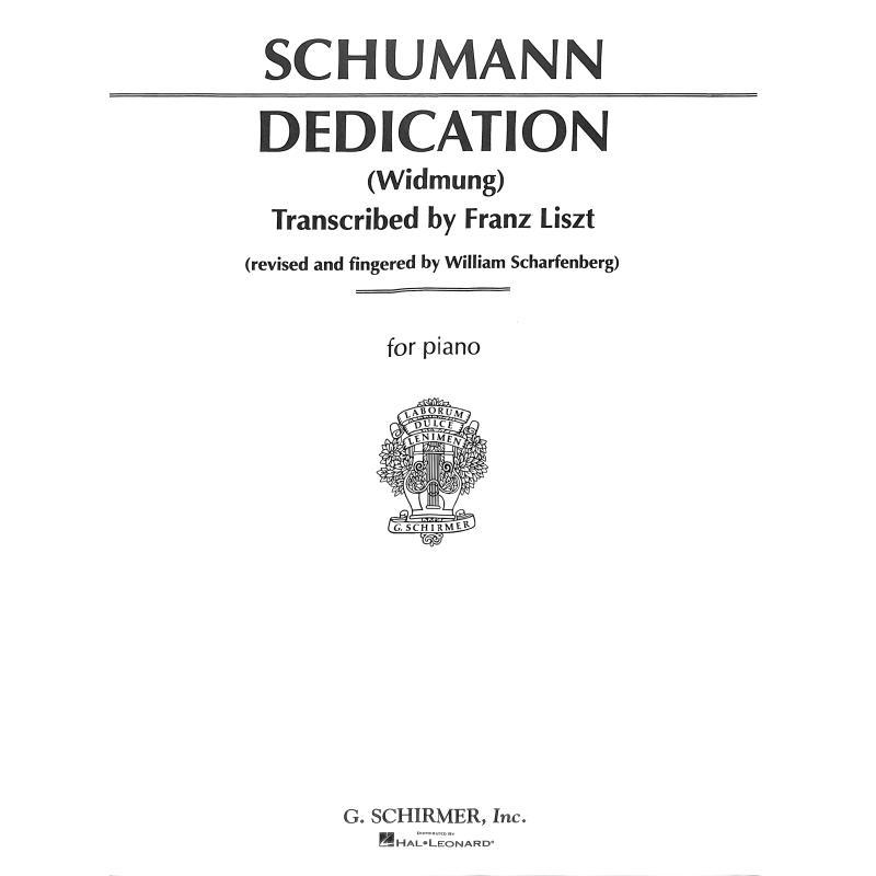 Titelbild für GS 50182 - WIDMUNG