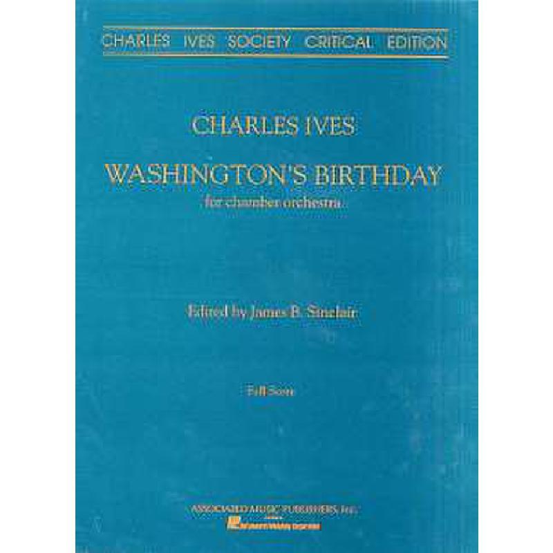 Titelbild für GS 81475 - WASHINGTON'S BIRTHDAY 1992 EDITION