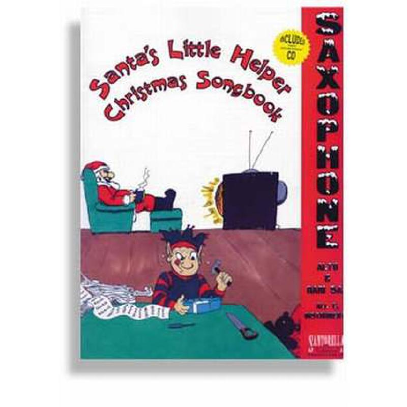 Titelbild für SANTOR -TS173WCD - SANTA'S LITTLE HELPER - CHRISTMAS SONGBOOK