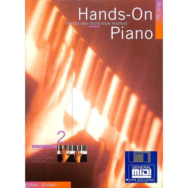 Titelbild für MSAM 927575 - HANDS ON PIANO TUTOR 2