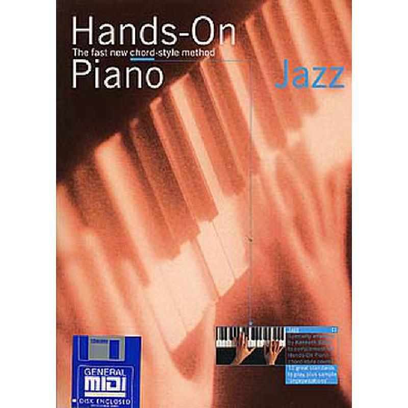Titelbild für MSAM 928675 - HANDS ON PIANO JAZZ BOOK