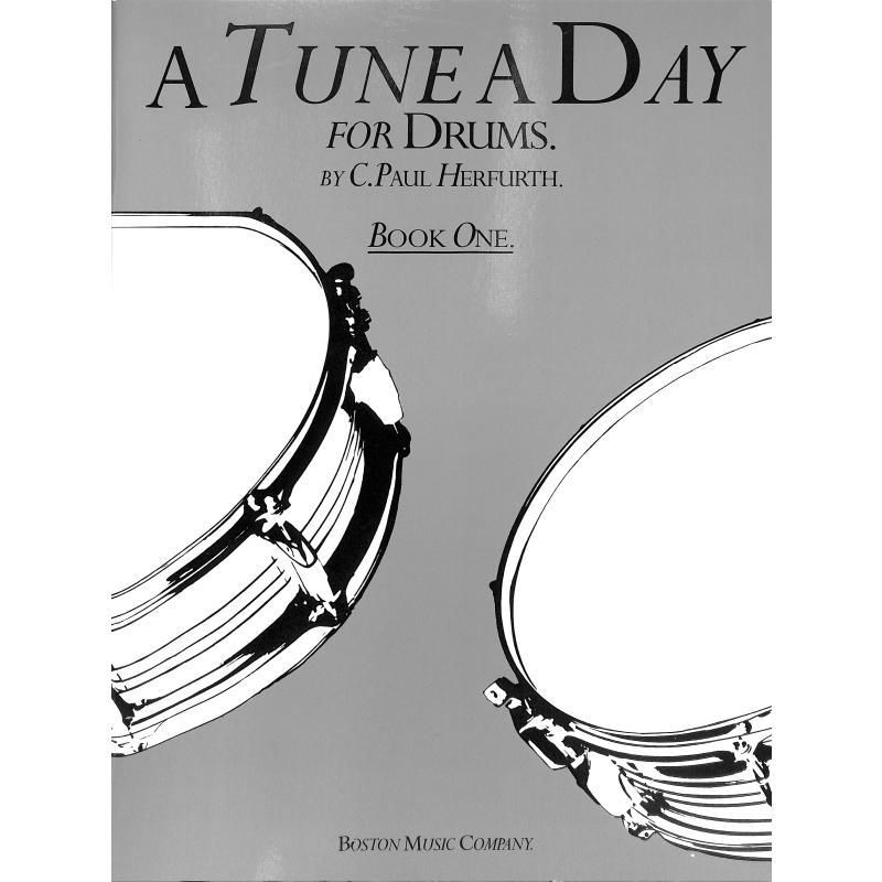 Titelbild für MSBM 10140 - A TUNE A DAY DRUMS BOOK 1