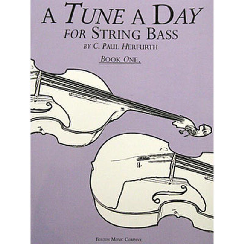 Titelbild für MSBM 10314 - A TUNE A DAY STRING BASS BOOK 1