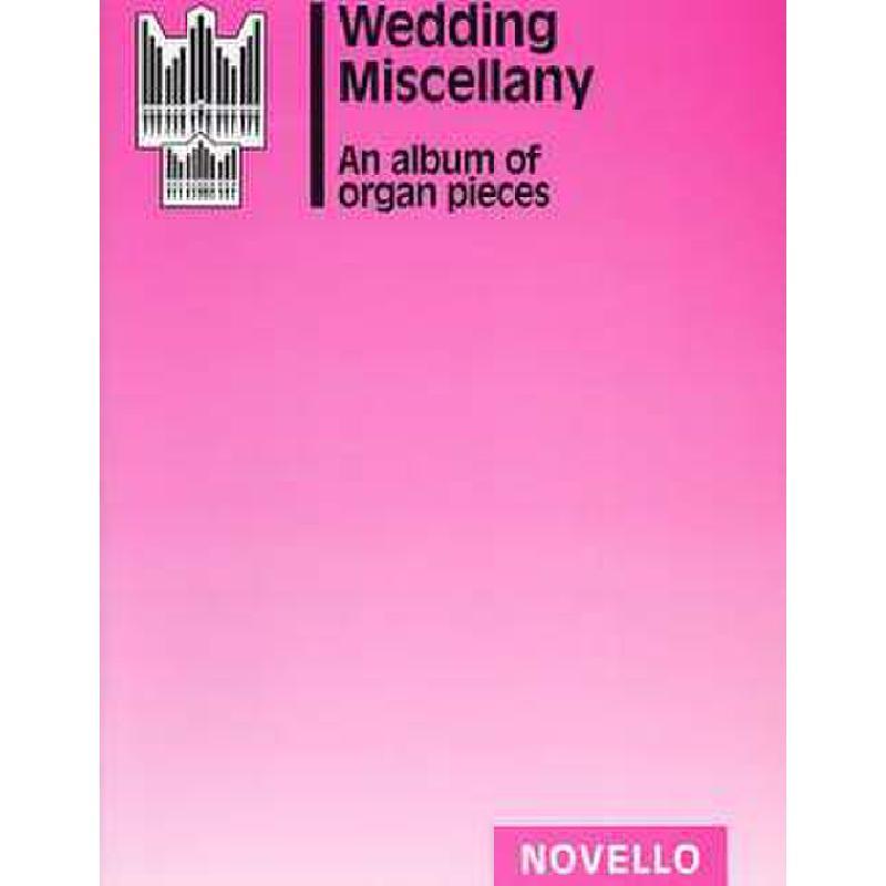 Titelbild für MSNOV 10124 - WEDDING MISCELLANY