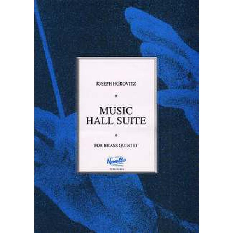 Titelbild für MSNOV 90082 - MUSIC HALL SUITE