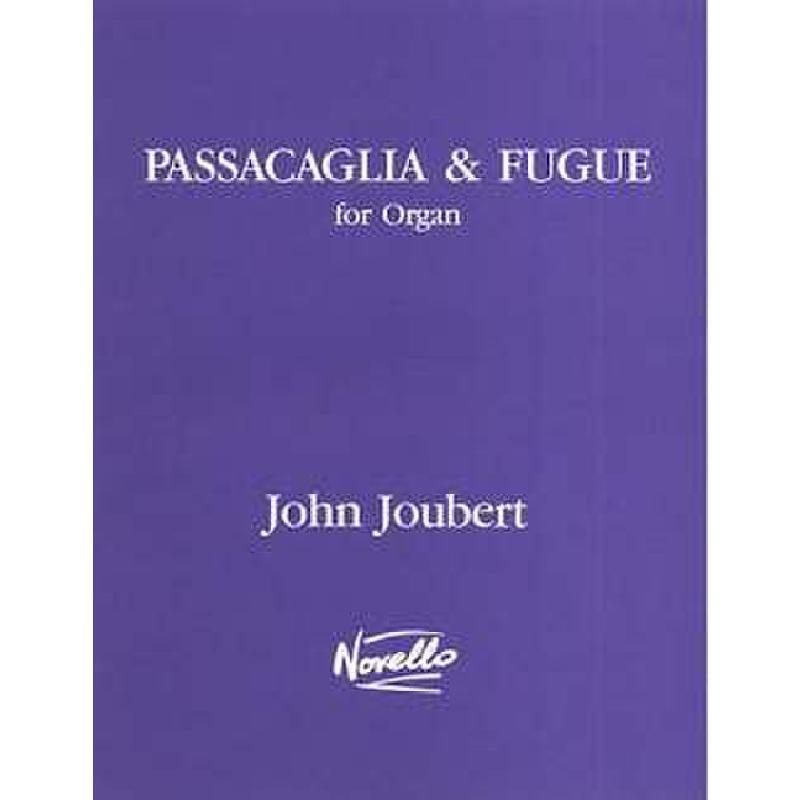 Titelbild für MSNOV 620012 - PASSACAGLIA + FUGUE