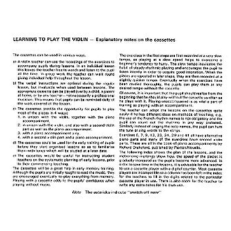 Titelbild für MSNOV 916167 - LEARNING TO PLAY THE VIOLIN 4