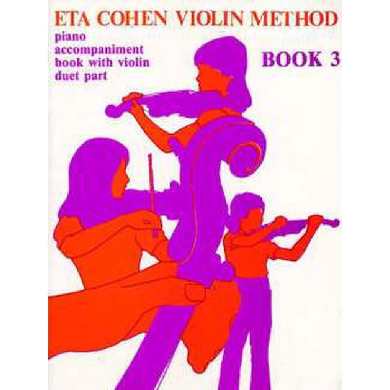 Titelbild für MSNOV 916173 - VIOLIN METHOD 3