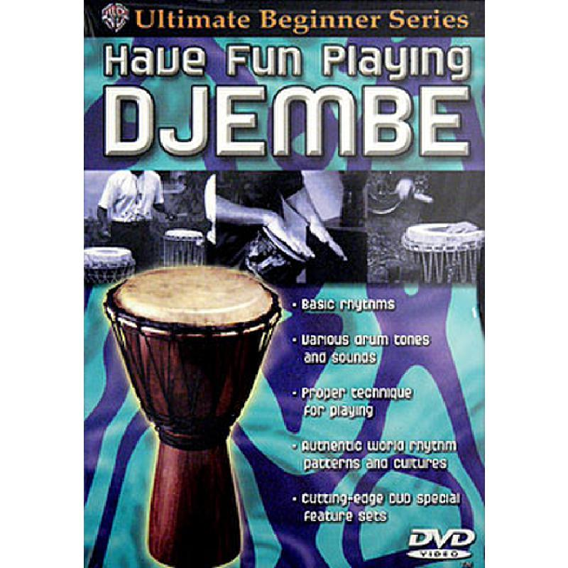 Titelbild für DVD 905856 - HAVE FUN PLAYING DJEMBE